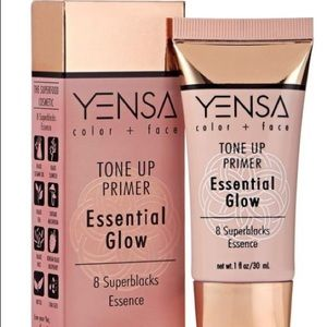 "YENSA Tone Up Primer ""Essential Glow""antioxidants"